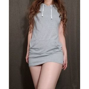 Stretchy Cotton Tank Dress